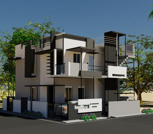 Home designs house plans residential construct for Home designs bangalore